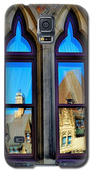 Chateau Laurier - Parlaiment Window - Reflection # 1 Galaxy S5 Case