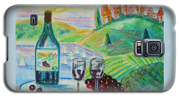 Chateau Wine Galaxy S5 Case by Diane Pape