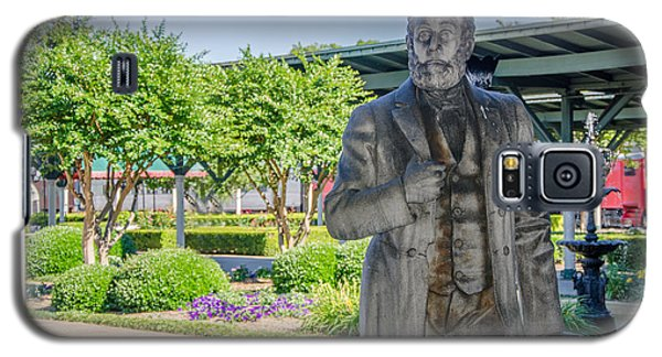 Galaxy S5 Case featuring the photograph Chattanooga Choo Choo Court Yard by Susan  McMenamin