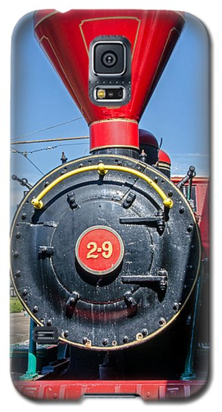 Galaxy S5 Case featuring the photograph Chattanooga Choo Choo Steam Engine by Susan  McMenamin