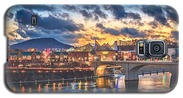 Chattanooga Evening After The Storm Galaxy S5 Case by Steven Llorca
