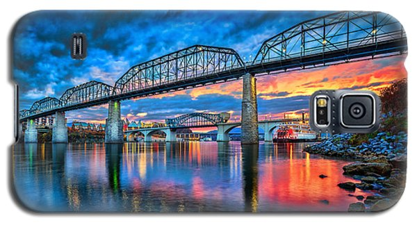 Chattanooga Sunset 3 Galaxy S5 Case