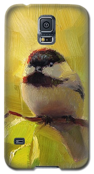 Chatty Chickadee - Cheeky Bird Galaxy S5 Case