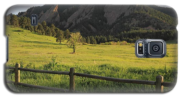 Chautauqua Park And Flatirons Galaxy S5 Case