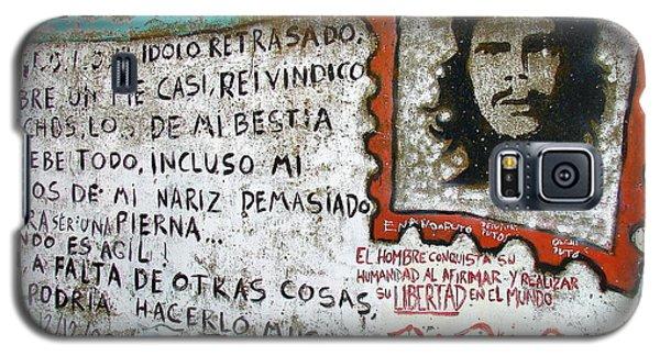 Che Guevara Galaxy S5 Case by Ramona Johnston