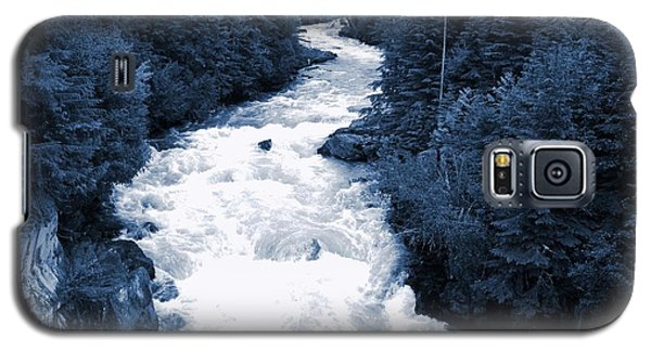 Galaxy S5 Case featuring the photograph Cheakamus Glacial River - Whistler by Amanda Holmes Tzafrir