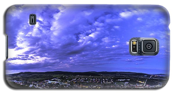 Checiny Town Blue Hour Panorama Galaxy S5 Case