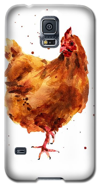 Cheeky Chicken Galaxy S5 Case by Alison Fennell