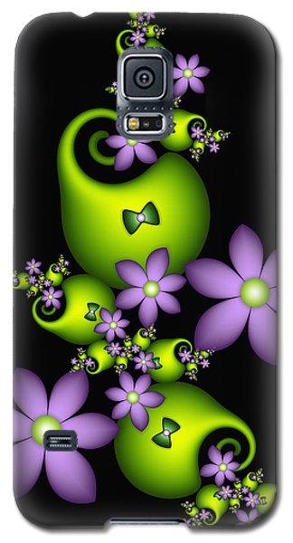 Galaxy S5 Case featuring the digital art Cheerful by Gabiw Art