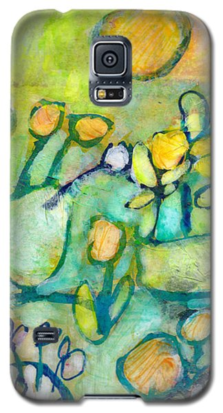 Cheerful Garden Galaxy S5 Case
