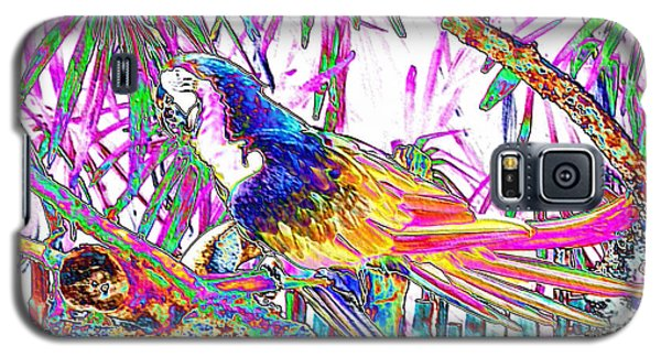 Cheerful Parrot. Colorful Art Collection. Promotion - August 2015 Galaxy S5 Case