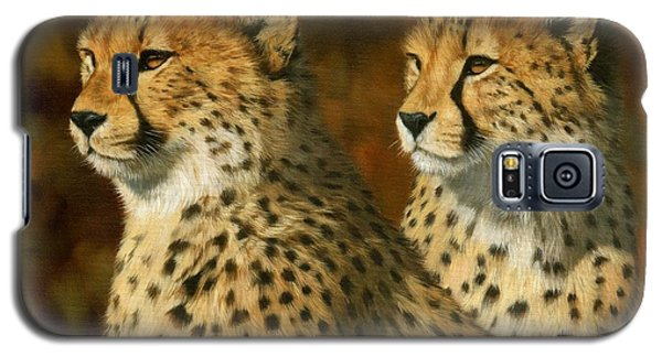 Cheetah Brothers Galaxy S5 Case by David Stribbling