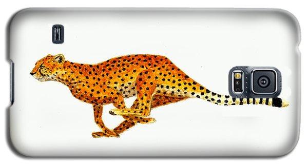 Cheetah Galaxy S5 Case by Michael Vigliotti