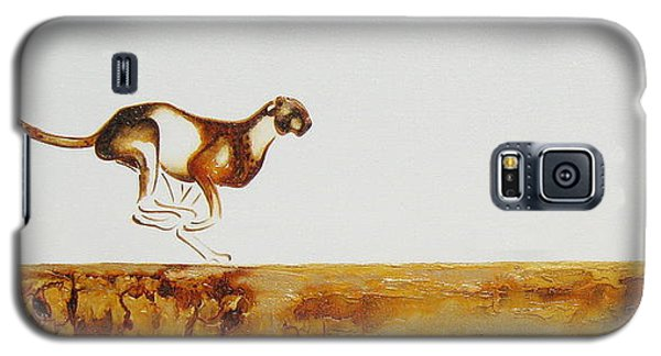 Cheetah Race - Original Artwork Galaxy S5 Case