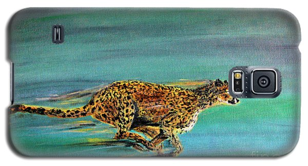 Cheetah Run Galaxy S5 Case