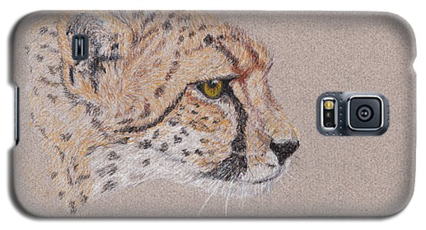 Cheetah Galaxy S5 Case by Stephanie Grant
