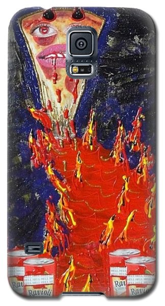 Pizza Galaxy S5 Case by Lisa Piper