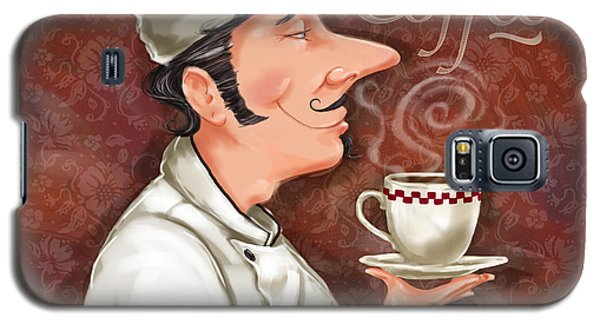 Chef Smell The Coffee Galaxy S5 Case