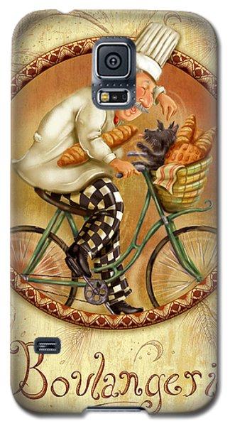 Chefs On Bikes-boulangerie Galaxy S5 Case