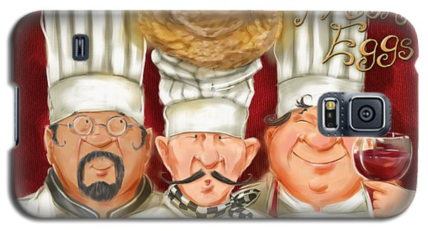 Chefs With Fresh Eggs Galaxy S5 Case