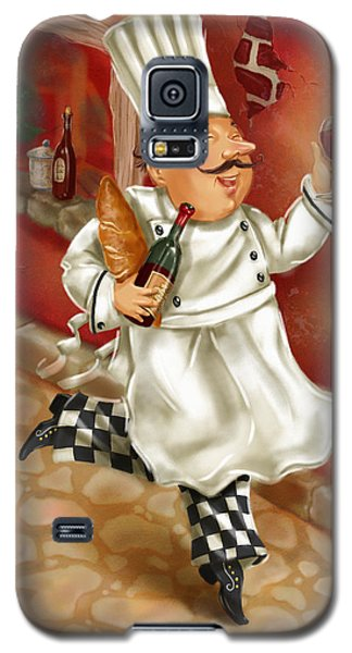 Chefs With Wine I Galaxy S5 Case