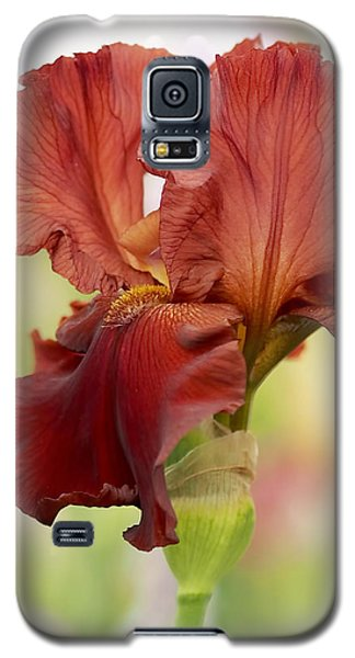 Chelsea Iris Galaxy S5 Case by Rona Black