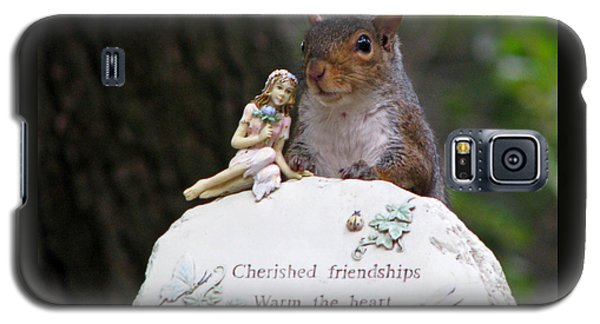 Galaxy S5 Case featuring the photograph Cherished Friendships by John Haldane