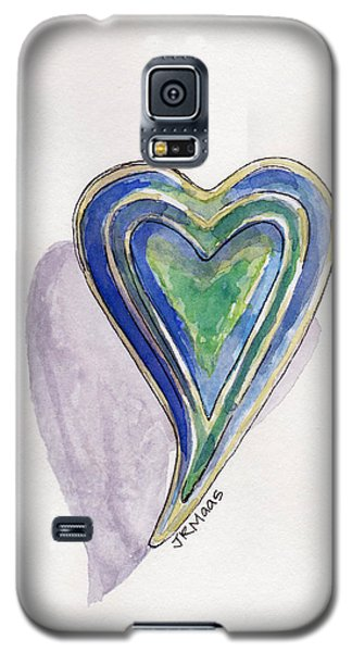 Cherished Heart Galaxy S5 Case by Julie Maas