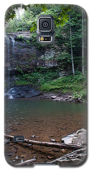 Galaxy S5 Case featuring the photograph Cherokee Falls by Rebecca Hiatt
