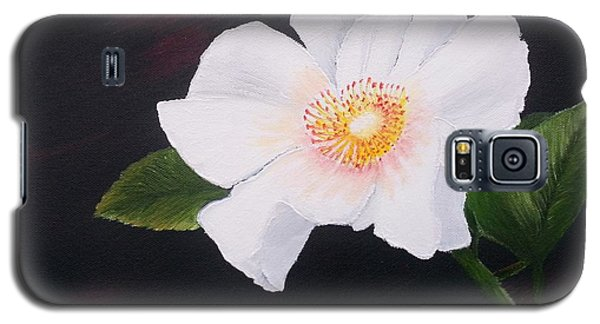 Cherokee Rose Galaxy S5 Case by Valorie Cross