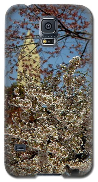 Cherry Blossoms And The Monument Galaxy S5 Case