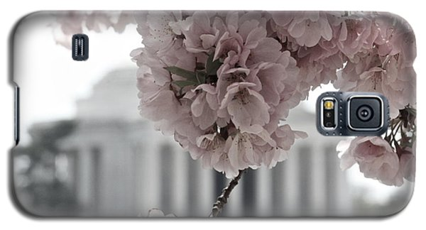Cherry Blossoms At Jefferson Memorial Galaxy S5 Case