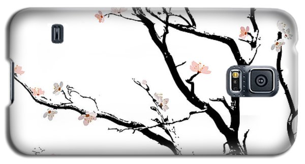 Cherry Blossoms Tree Galaxy S5 Case by Gina Dsgn