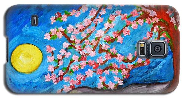 Cherry Tree In Blossom  Galaxy S5 Case