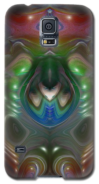 Galaxy S5 Case featuring the digital art Cherub 5 by Otto Rapp