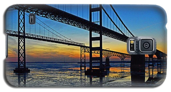 Chesapeake Bay Bridge Reflections Galaxy S5 Case