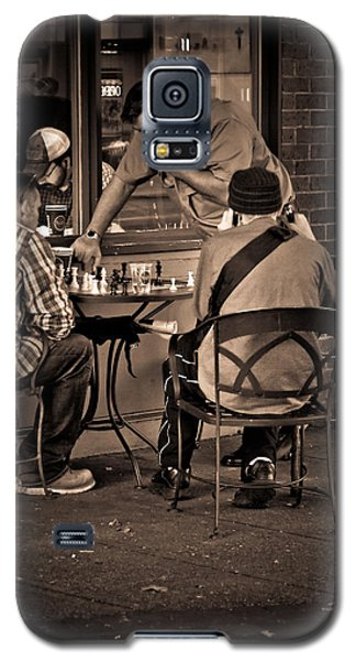 Galaxy S5 Case featuring the photograph Chess Game by Erin Kohlenberg