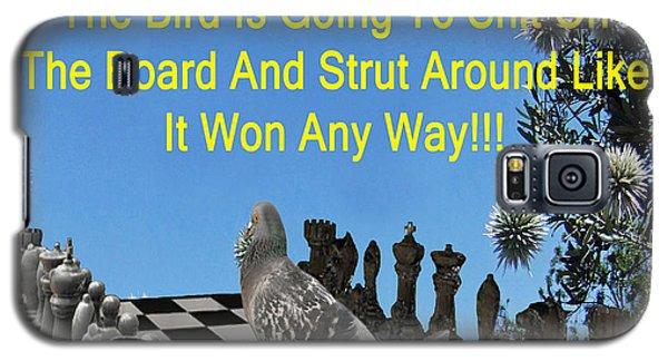 Chess Pigeon Galaxy S5 Case