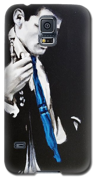 Chet Baker - Almost Blue Galaxy S5 Case by Eric Dee