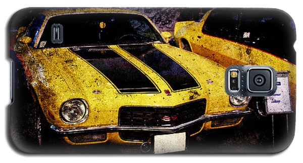 Galaxy S5 Case featuring the photograph Chevrolet Camaro by Mohamed Elkhamisy
