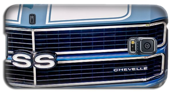 Chevrolet Chevelle Ss Grille Emblem 2 Galaxy S5 Case by Jill Reger