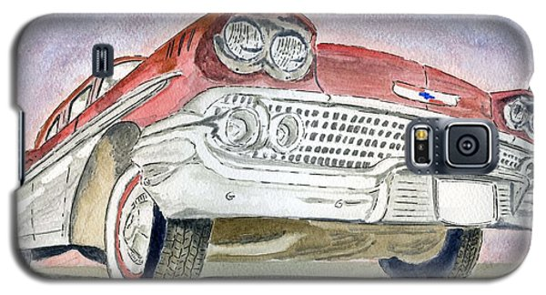 Galaxy S5 Case featuring the painting Chevrolet II by Eva Ason