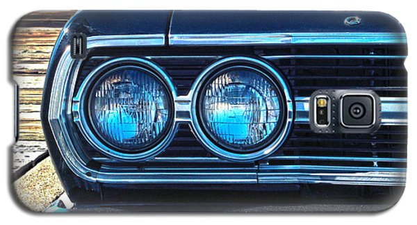 Galaxy S5 Case featuring the photograph Chevrolet In American Town by Sebastian Mathews Szewczyk