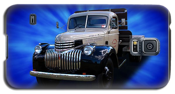 Galaxy S5 Case featuring the photograph Chevrolet Maple Leaf Truck by Keith Hawley