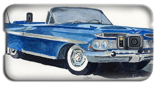 Galaxy S5 Case featuring the painting Chevy Impala by Eva Ason