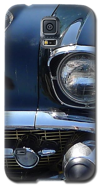 Galaxy S5 Case featuring the photograph Chevy In Black by Richard Reeve