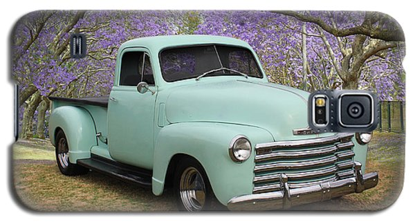 Galaxy S5 Case featuring the photograph Chevy Pickup by Keith Hawley