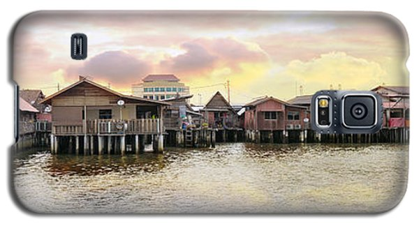 Chew Jetty Heritage Site In Penang Galaxy S5 Case