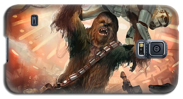 Chewbacca - Star Wars The Card Game Galaxy S5 Case