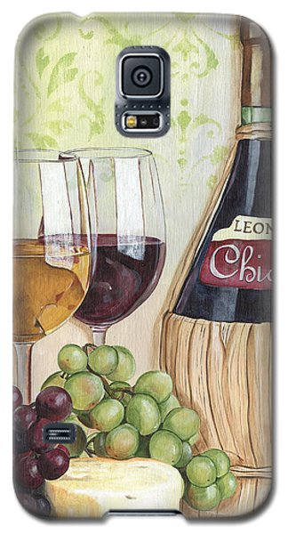 Wine Galaxy S5 Case - Chianti And Friends by Debbie DeWitt